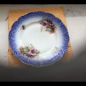 Vintage Antique Plate